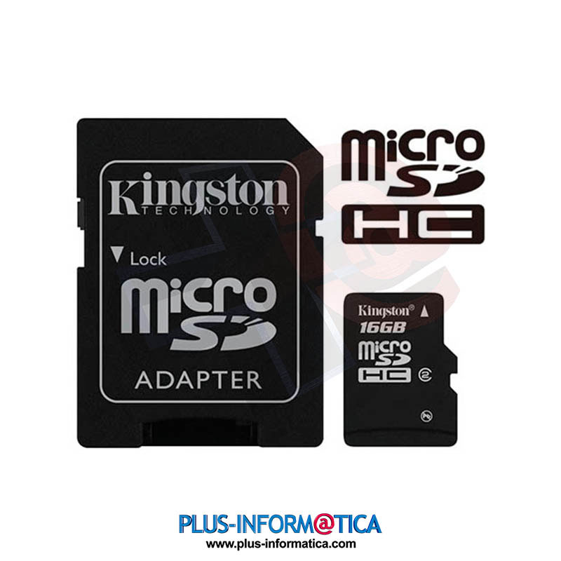 Tarjeta microSD Kingston 16GB (Class4)