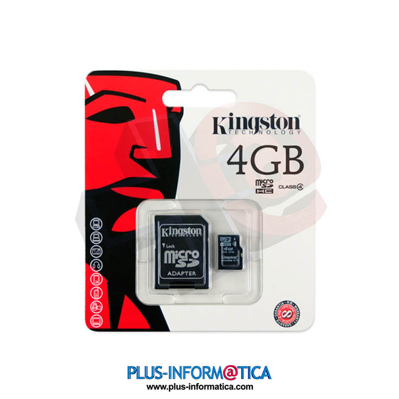 Tarjeta microSD Kingston 4GB (Class4)