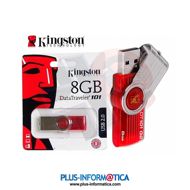 Pendrive Kingston DataTraveler 101 8GB Usb 2.0