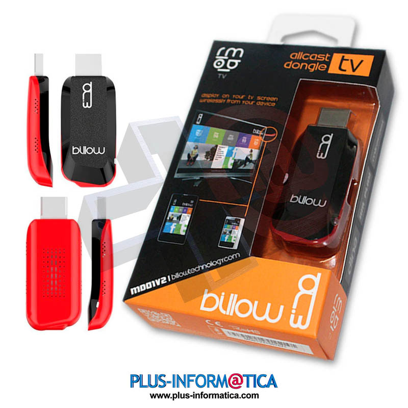 Dispositivo DLNA Allcast Dongle MIRACAST MD01X para TV