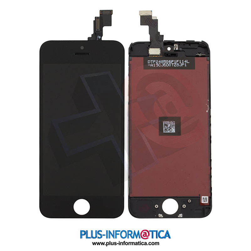 Pantalla iPhone 5c negro AAA