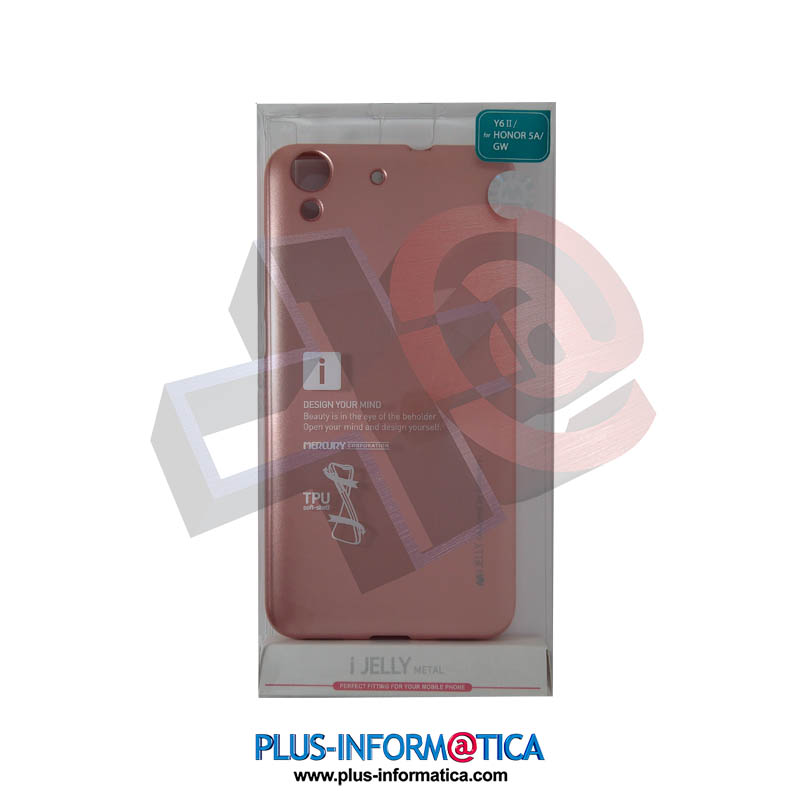 Funda Goospery i-Jelly Metal Huawei Y6 II / Honor 5A / GW Rosa