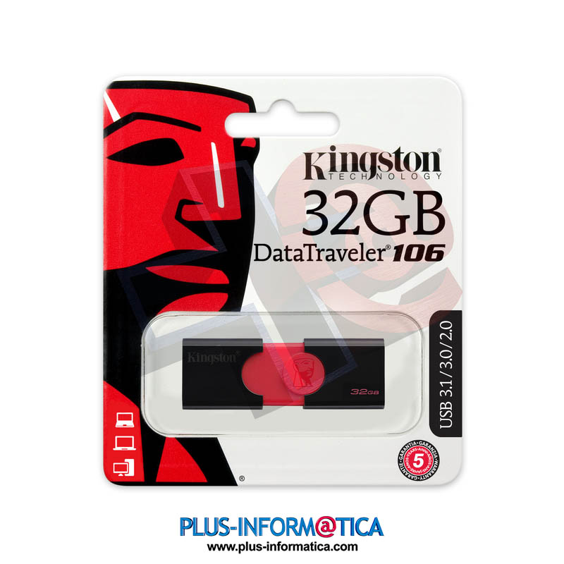 Pendrive Kingston DataTraveler 106 32Gb USB3.1