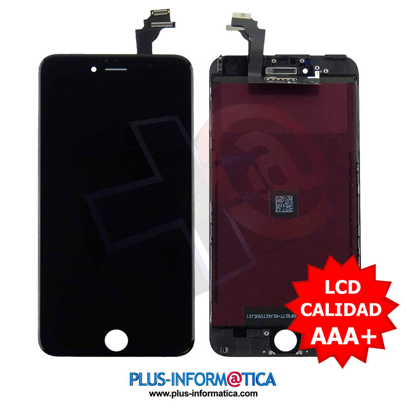 Pantalla iPhone 6 Plus Negro AAA++