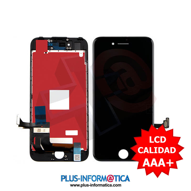 Pantalla iPhone 8 Plus Negro AAA++