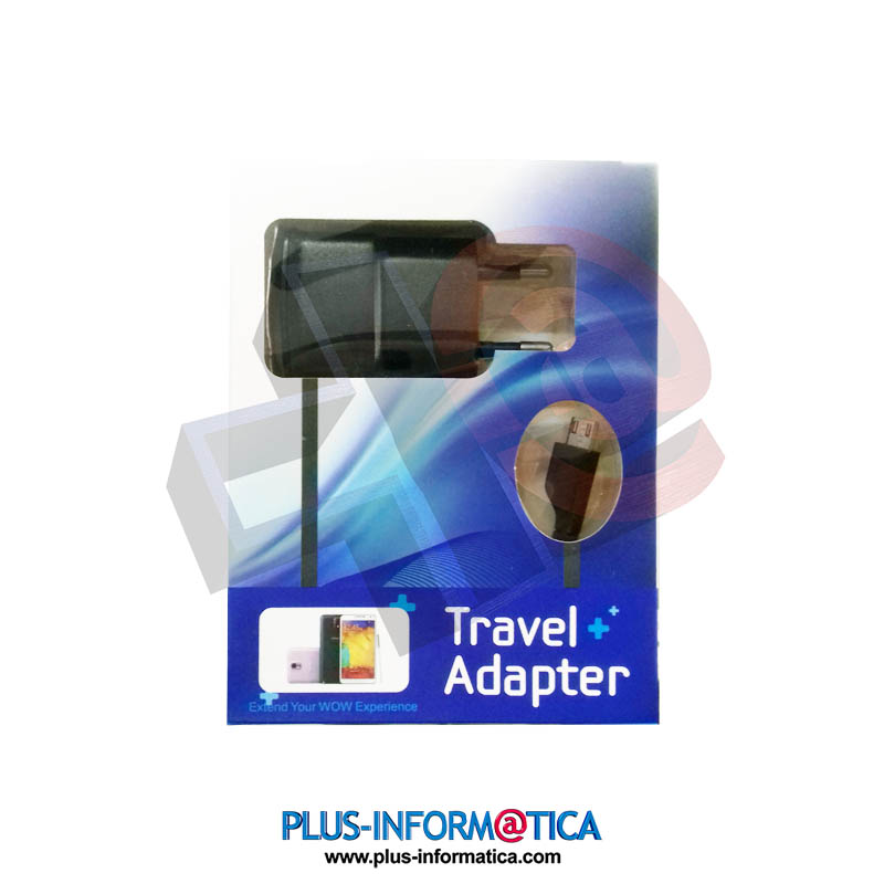 Cargador universal Travel Adapter MicroUSB 0.7A blister