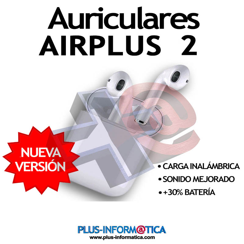 Auriculares Remax Airplus 2 Bluetooth blancos con carga inalámbrica