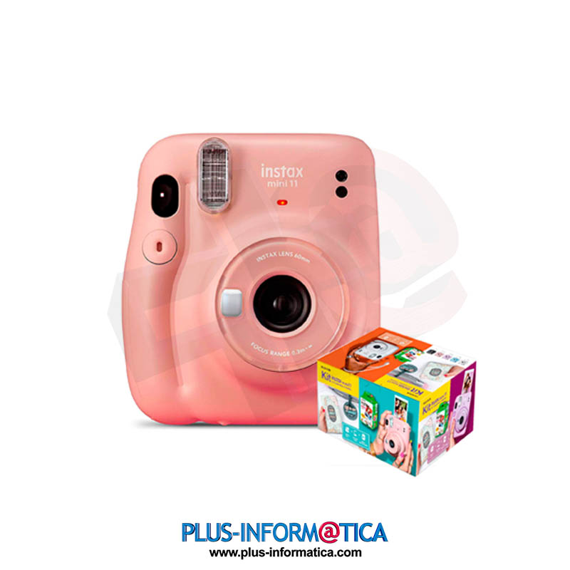 Cámara fujifilm instax mini 11 Rosa KIT MR Wonderful