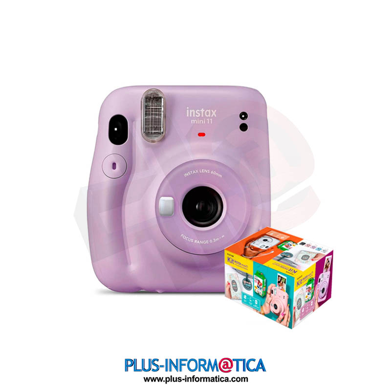 Cámara fujifilm instax mini 11 Púrpura KIT MR Wonderful